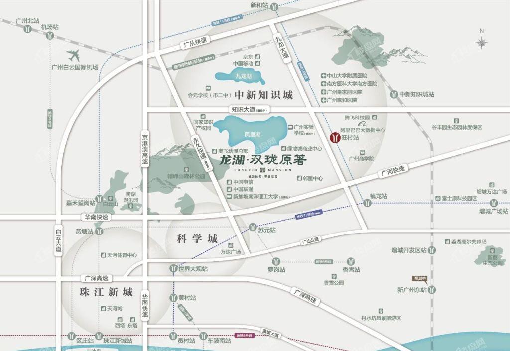 龙湖双珑原著位置图