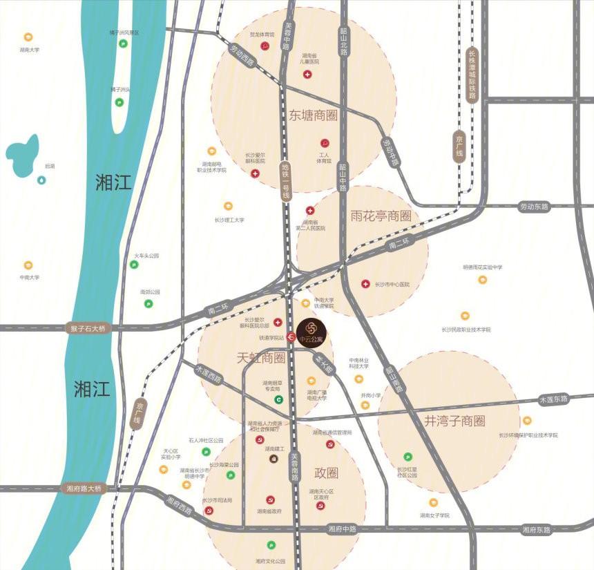 中云公寓位置图