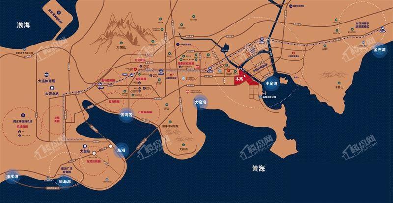 金湾十里海位置图