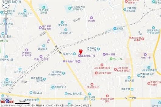 路港商业广场二期交通图