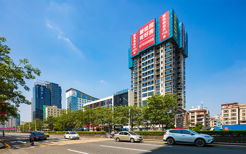 碧桂园壹中心实景图