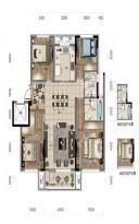 华润翡翠城洋房134平四室两厅两卫