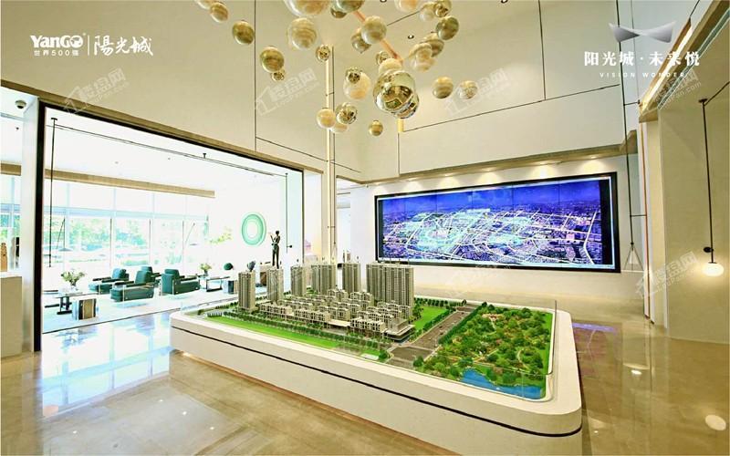 阳光城未来悦实景图