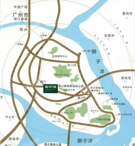 星河丹堤位置图