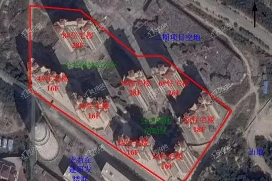 洛江万盛凤凰城一期规划图