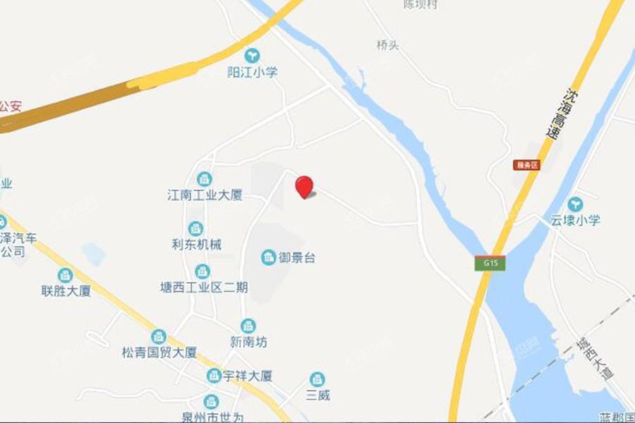 洛江万盛凤凰城位置图
