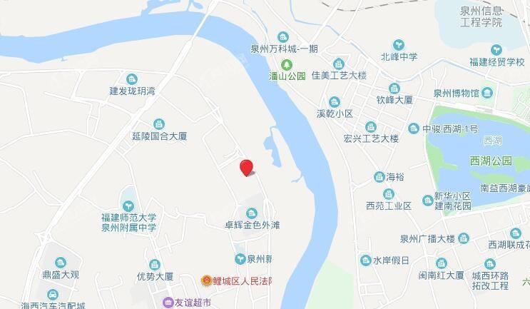 鲤商滨江银座位置图