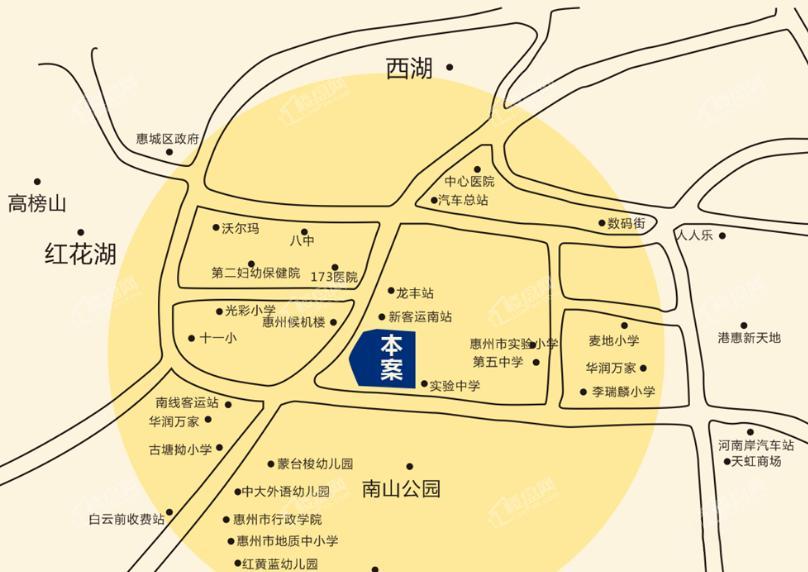 百基宸庭位置图