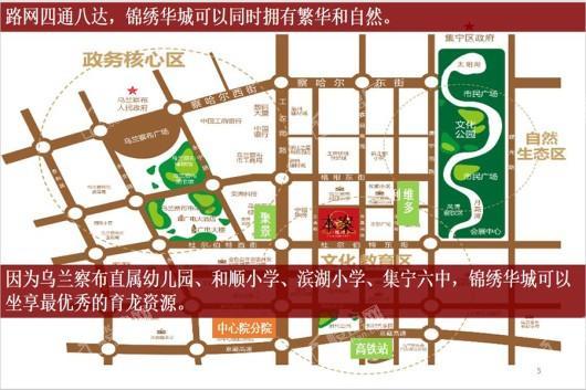 兴泰锦绣华城二期1交通图