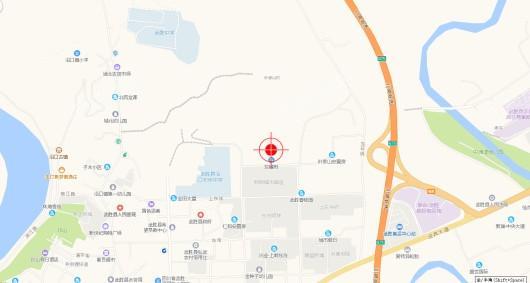 东樾府交通图