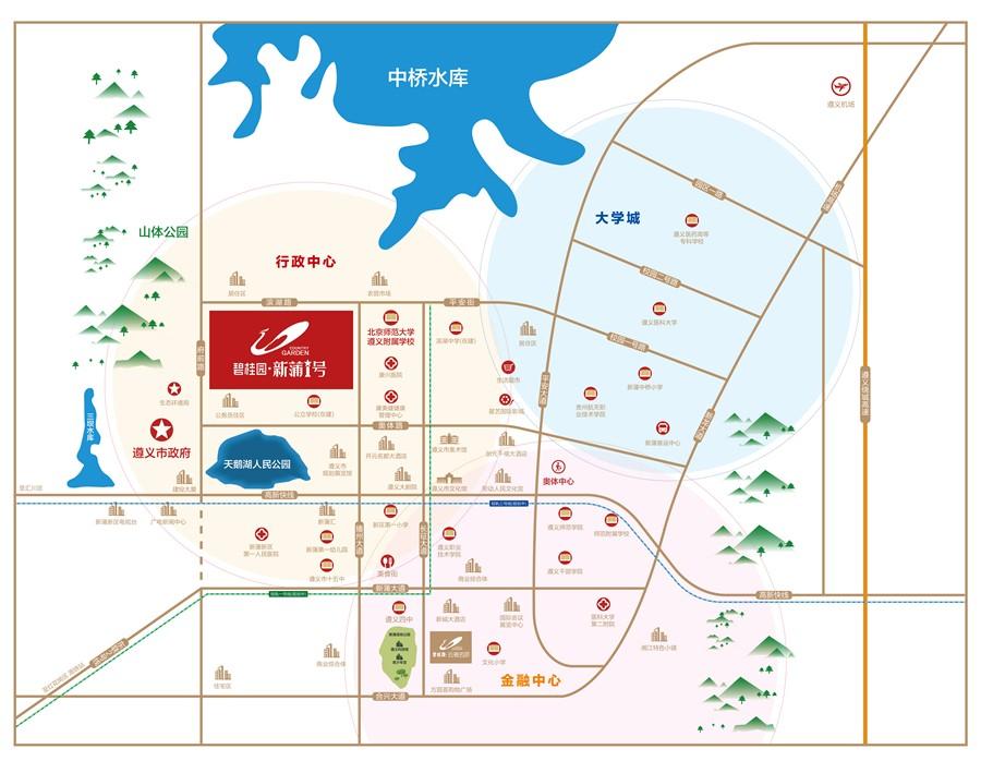 碧桂园·新蒲1号位置图