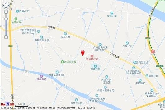 中海熙园交通图