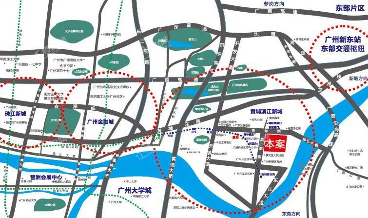 招鑫富荔广场位置图