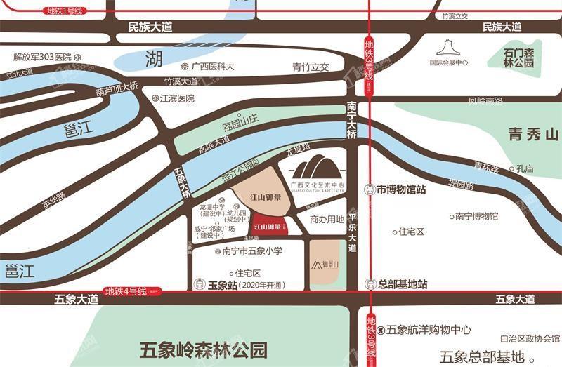 江山御景2期位置图