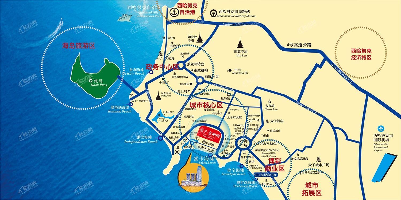 太子金海湾位置图