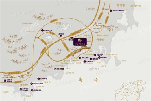 国安七星海岸交通图