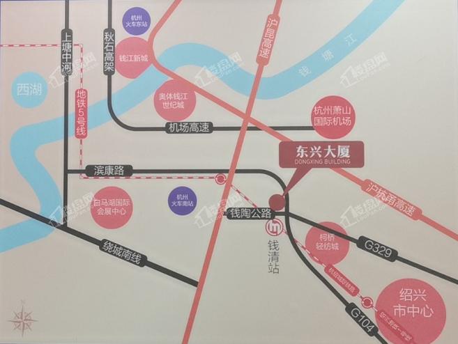 东兴大厦位置图