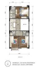 163m²小院别墅二层