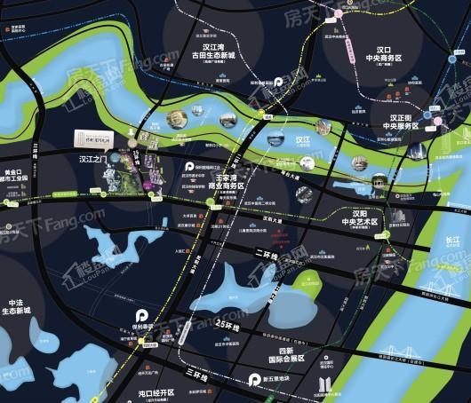 保利星河九洲二期区位图