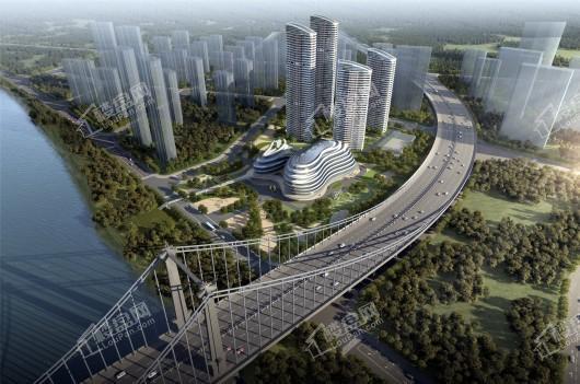 保利星河九洲二期滨江双子塔