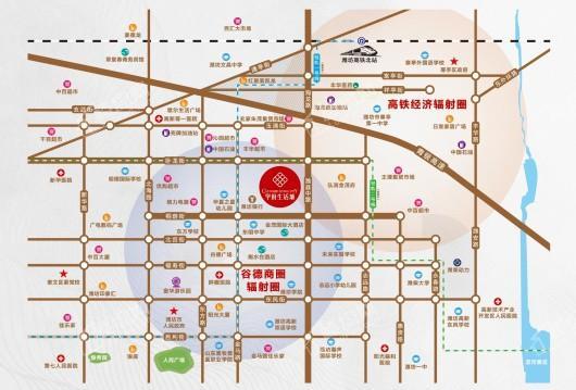 学府生活城交通图