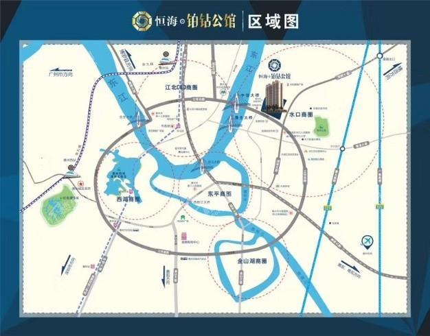恒海铂钻公馆位置图