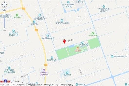 中建阅澜山交通图