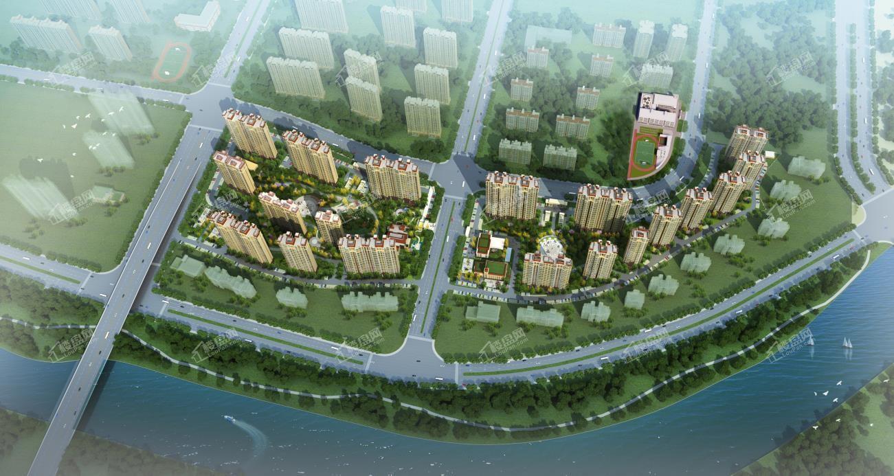 亿利生态城效果图