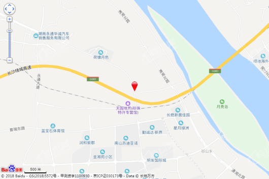 润和滨江广场交通图
