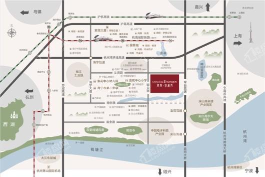 鸿翔悦澜湾交通图
