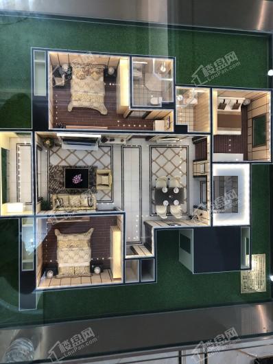 海宁水岸名邸户型模型