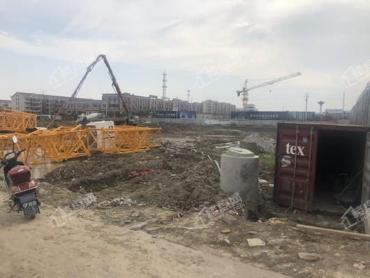 钱塘玉园在建工地