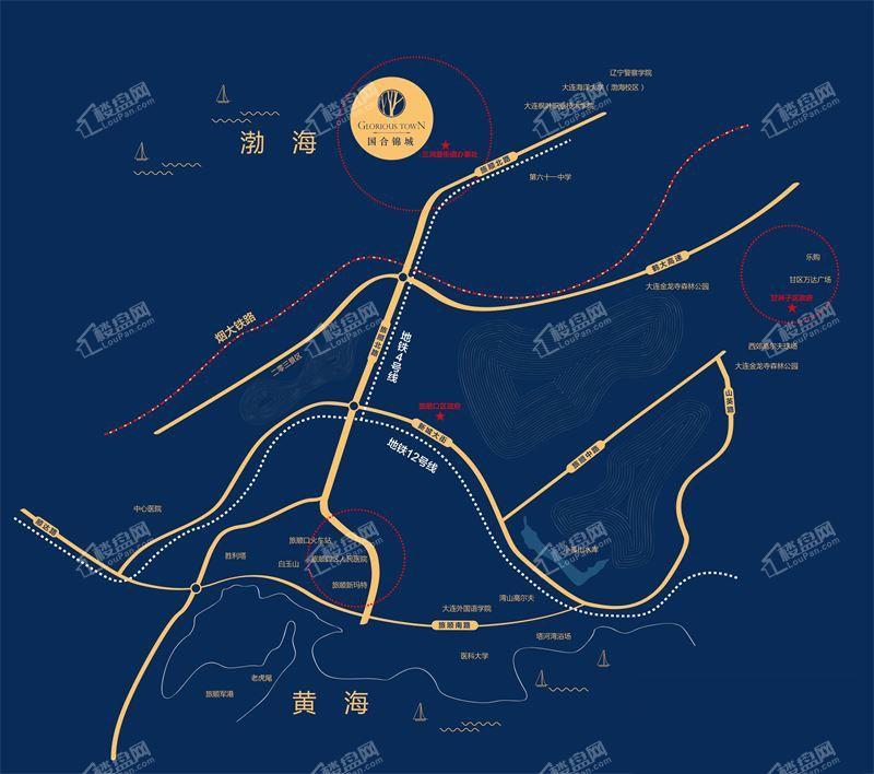 国合锦城位置图