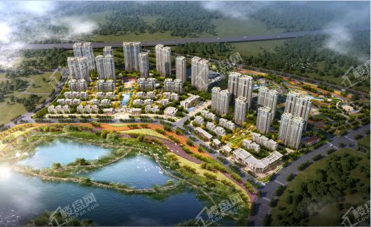 武汉恒大时代新城效果图