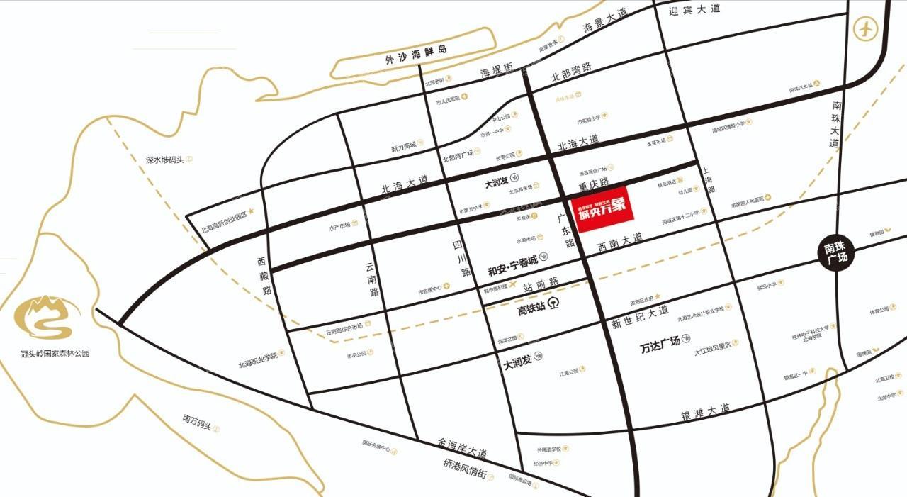 城央万象位置图