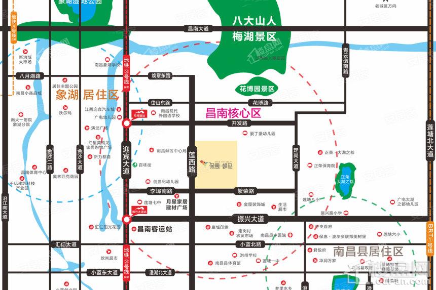 保惠峰鸟位置图