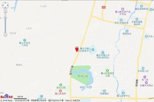 中骏·璟颂交通图