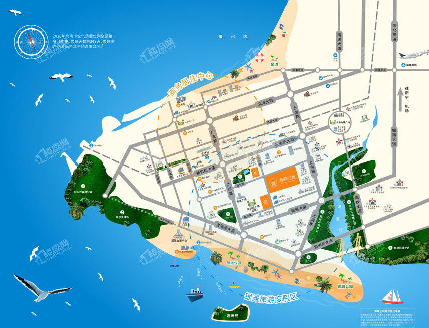 融创海映兰屿位置图