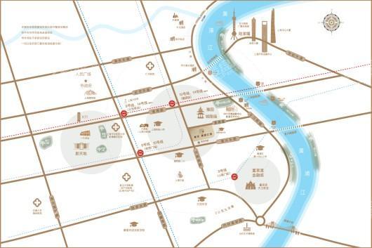 复地雅园公馆交通图