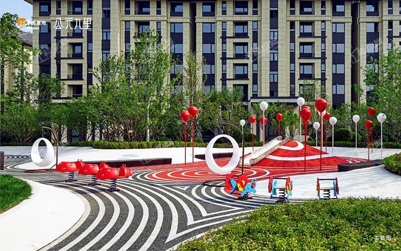 华润公元九里项目园区实景拍摄图