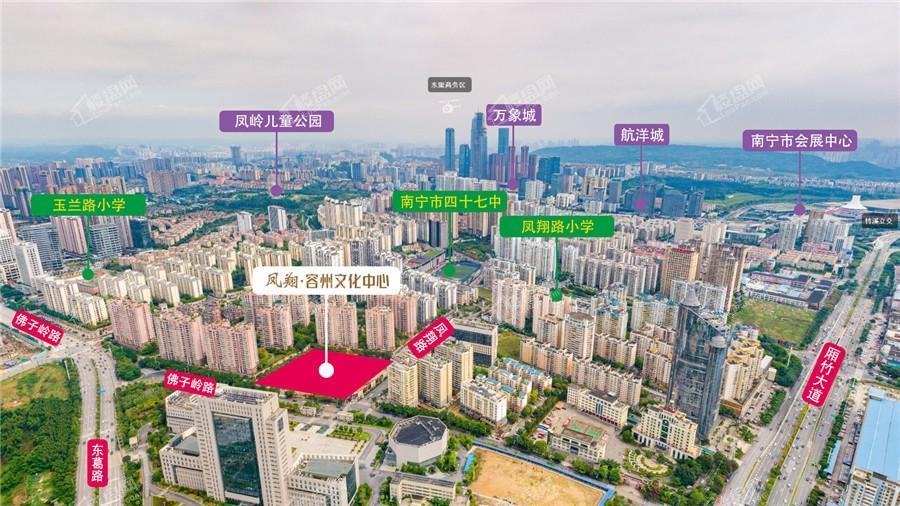 凤翔·容州文化中心配套图