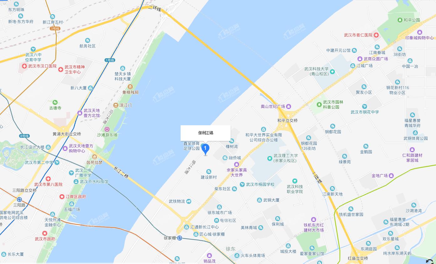 保利·江锦1号位置图