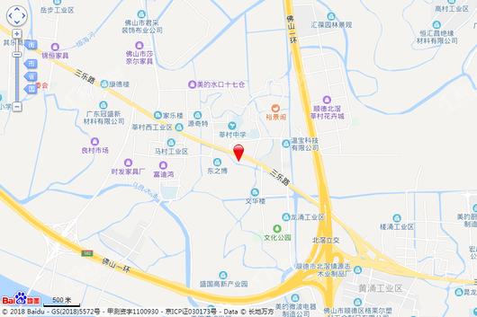 中国铁建领秀公馆交通图