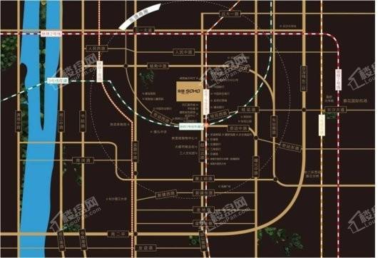 东塘SOHO交通图