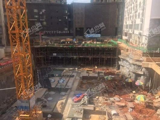 东塘SOHO在建工地