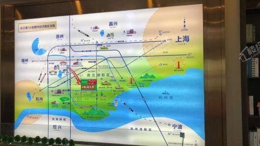 中朝 · 桃源水岸交通图