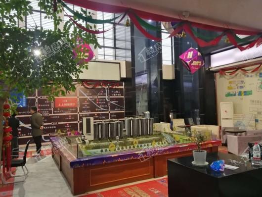广弘·上上城售楼处现场2
