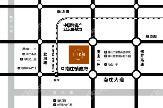 华润置地·玖悦交通图