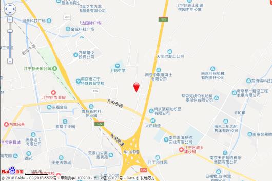 招商金茂名筑交通图