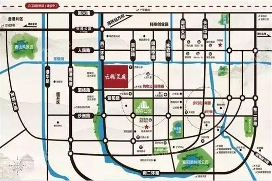 云樾兰庭交通图